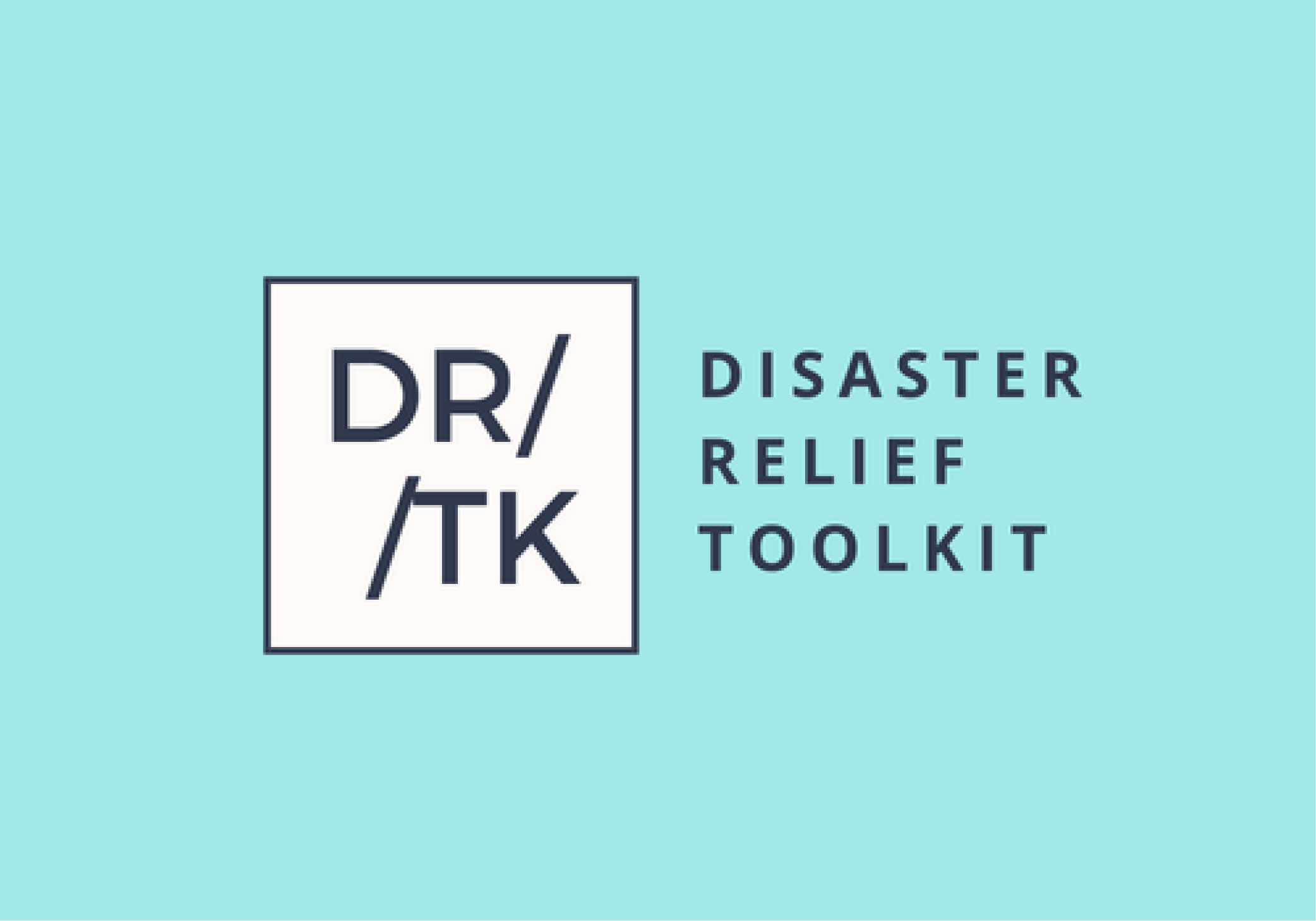disaster relief toolkit